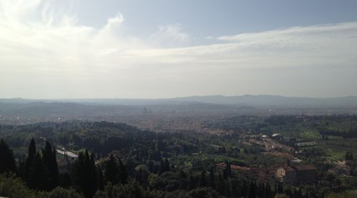 A view of Florence from Fiesole