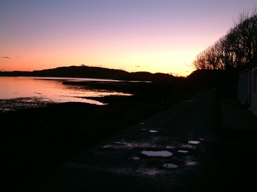 Sunset from Canna