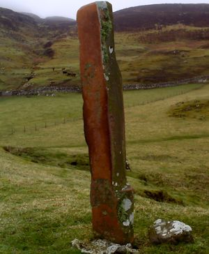 Standing stone on Canna