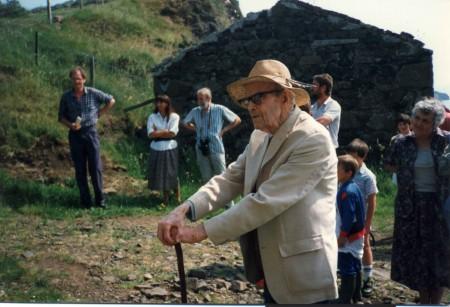 John Lorne Campbell on Canna